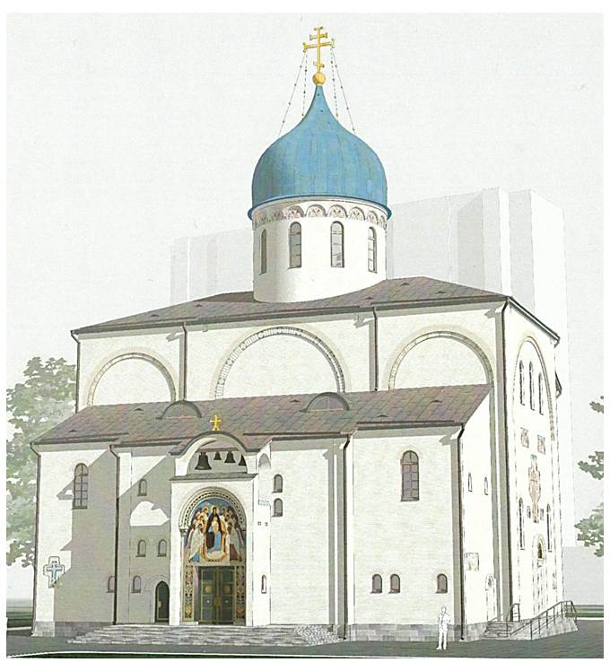 Заставка для - Пожертвования на строительство храма